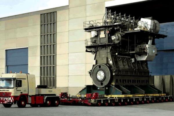 Ce putere dezvoltă cel mai puternic motor diesel din lume